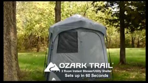 Ozark Trail tent 1