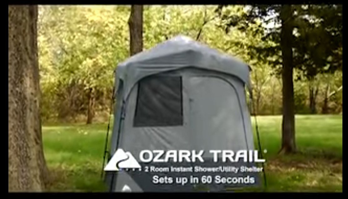 & Ozark Trail Tent Review: Shower/Changing Room Is It Good?