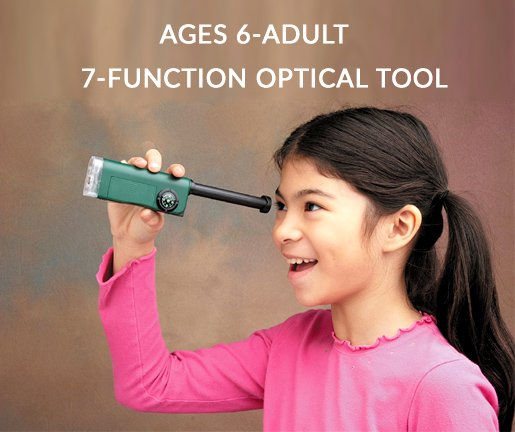 Carson X-Scope Child's Microscope-Telescope-Magnifier