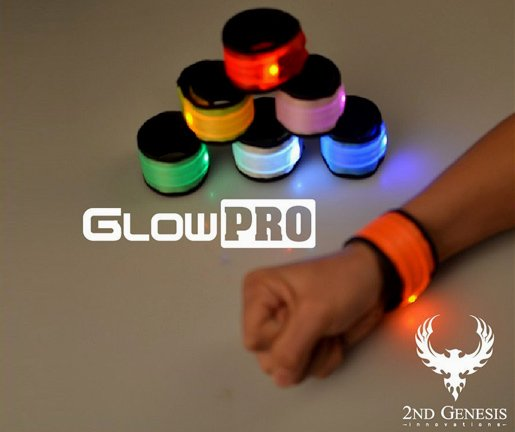 GlowPRO LED Slap Bracelets the Best Child Safety Gift