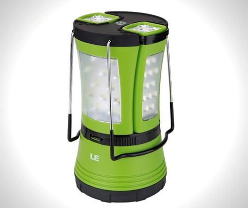 LE 600lm Rechargeable LED Camping Lantern