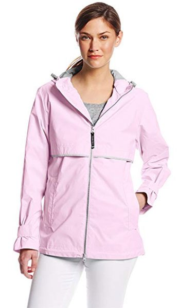 Charles River Apparel Womens New Englander Waterproof Rain Jacket