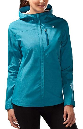 Paradox Womens Platinum Waterproof Rain Jacket