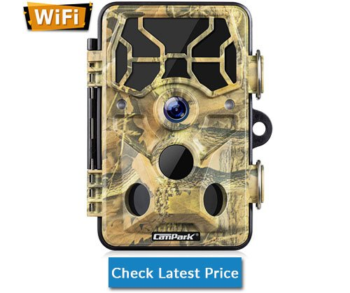 Campark Trail Camera-WiFi 20MP 1296P